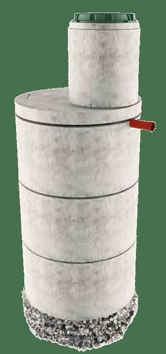 Септик из бетонных колец в Кашире